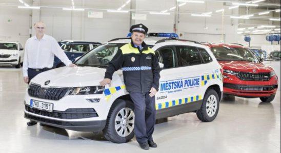 Škoda Koraq pomáhá městské policii