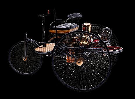 První automobil, který sestrojil Karl Benz