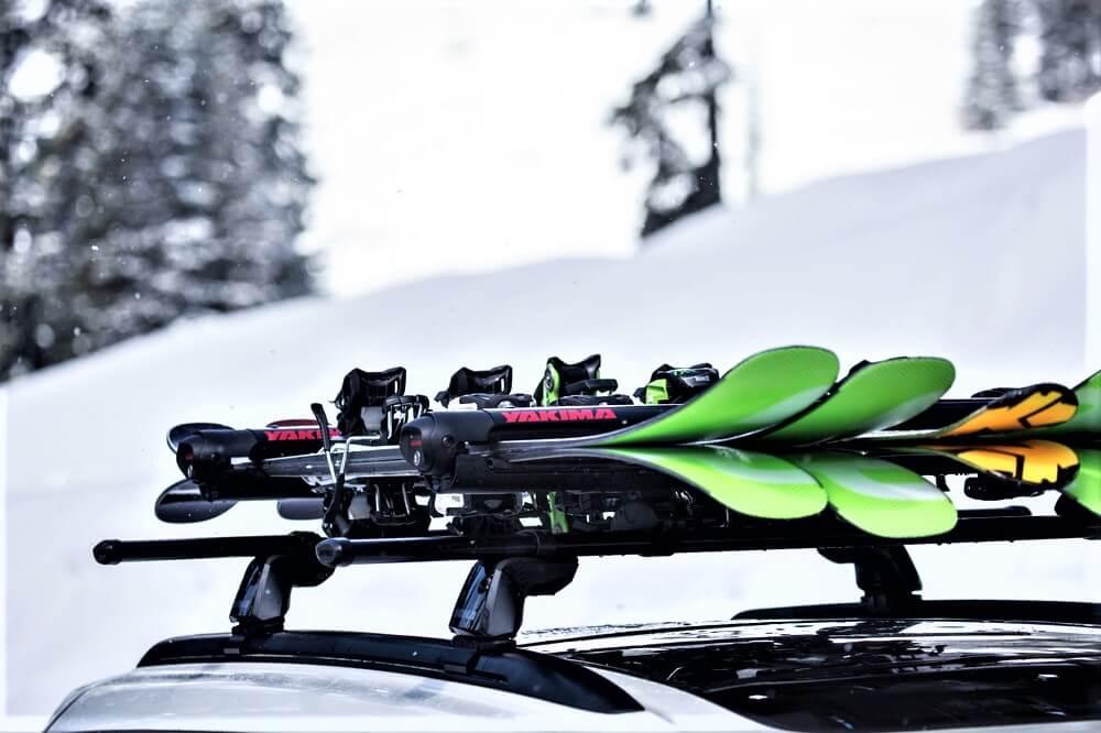 Nosič lyží a snowboardů
