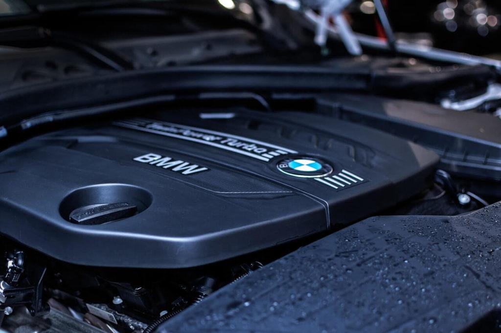 Motor u auta BMW