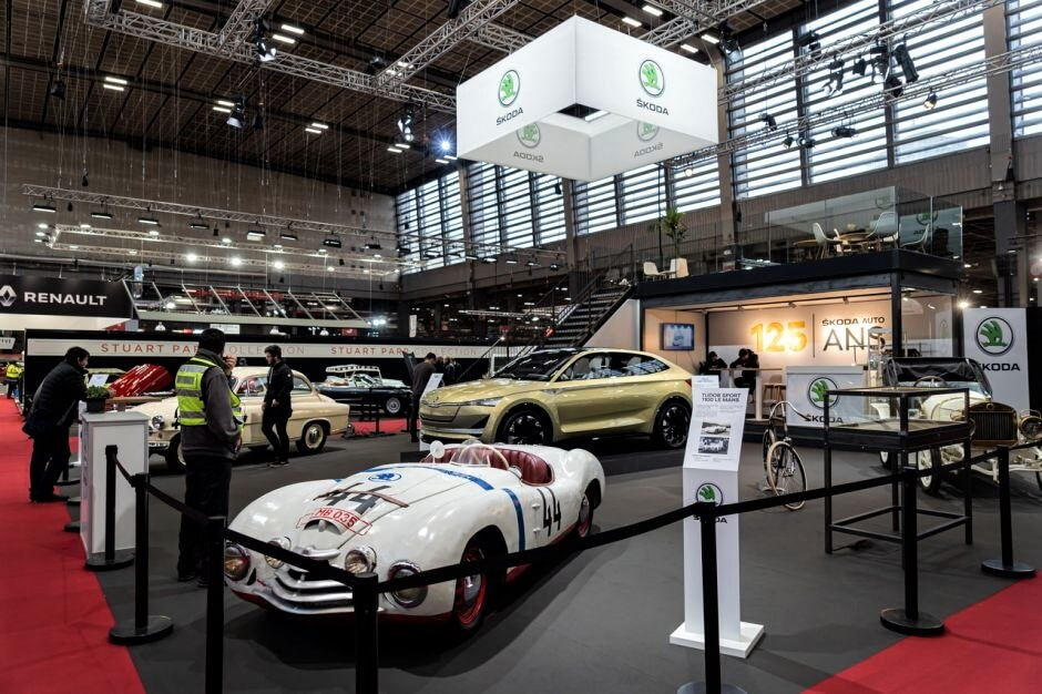 Škoda na Retromobile 2020