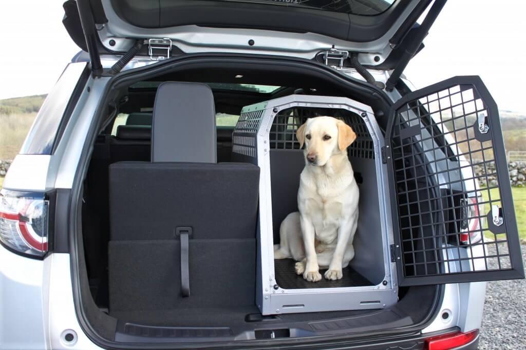 Přepravka pro psa do auta