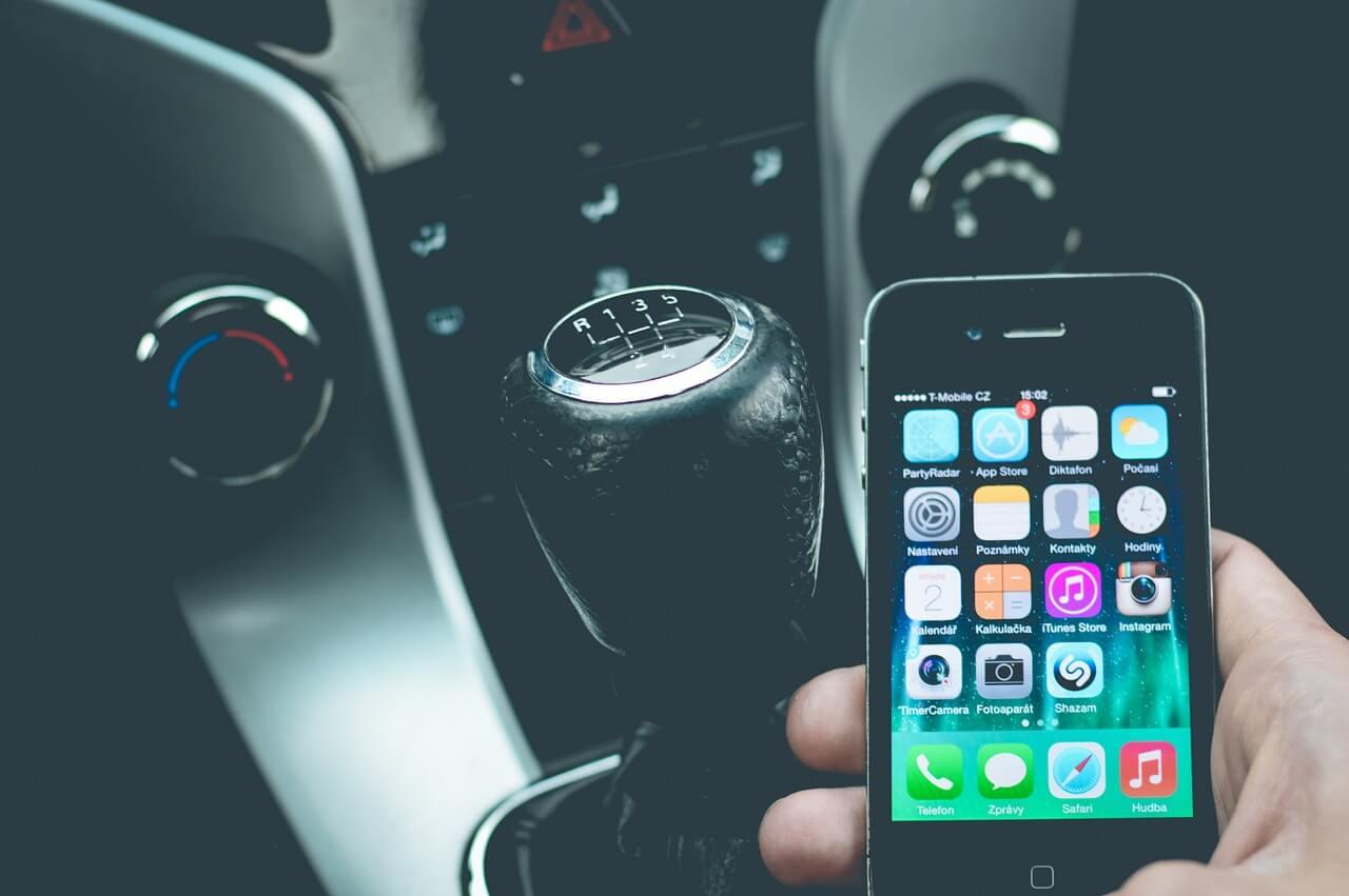Nákup elektronické dálniční známky přes mobil