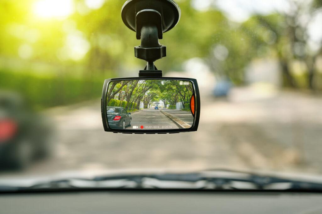širokoúhlá autokamera